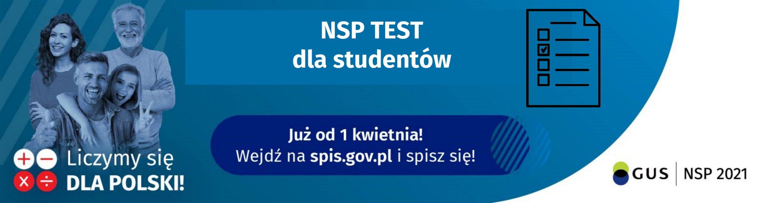 Grafika przedstawia baner konkursu NSP