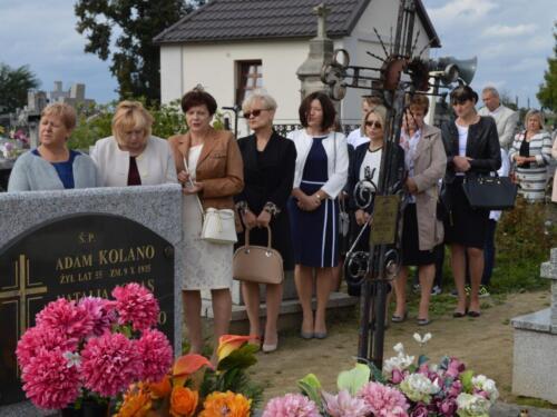 Zdjęcie przedstawia obchody związane z rocznicą wybuchu II Wojny Światowej.
